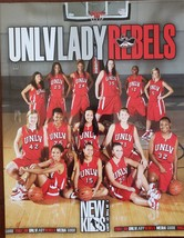 2007-08 UNLV Lady Rebels Media Guide 'The New Kids on the Court' - $5.95