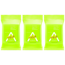 3-New Almay Clear Complexion Makeup Remover Cleansing Towelettes, Hypoallergenic - $14.30