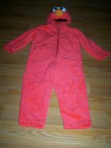 Size 3-4T Sesame Street Tickle Me Elmo Plush Halloween Costume Giggle So... - $48.00