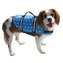 Blue Polka Dot Doggy Life Jacket - $19.95+