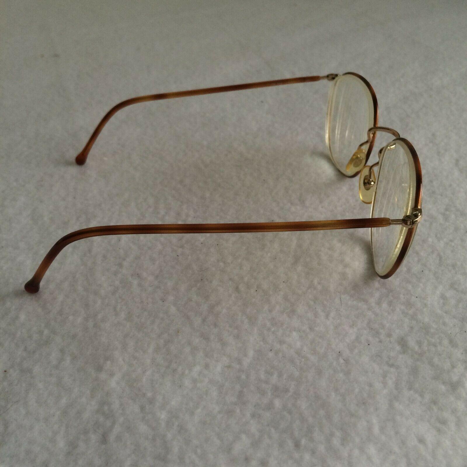 Calvin Klein Men's Eyeglass Frames CK304 Italy Tortoise Gold 52-20-140 + Case