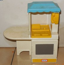 Vintage Little Tikes Doll House Size Kitchen Sink and Stove Pretend Play - $23.20