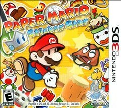 Paper Mario: Sticker Star (Nintendo 3DS, 2012) - $18.53