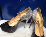Silver fading black luxury bridal shoes thumb155 crop