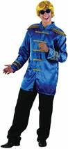 SGT PEPPER JACKET, BLUE, ADULT COSTUMES, 1960s BEETLES FAB 4 FANCY DRESS... - $21.95