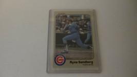 1983 Fleer Ryne Sandberg Rookie Card # 507 Chicago Cubs & 1984 Donruss - $9.75
