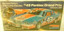 Vintage 1985 Monogram #43 Petty Pontiac Grand Prix Stock Car 1:24 NIB Se... - $28.41