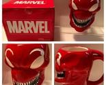New Marvel Villain Carnage 3-D Figural Red Ceramic Coffee Cup Tea Mug 16oz