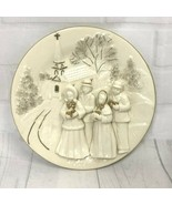 Mikasa Holiday Elegance 3D Christmas Holiday Carolers Plaque - $15.88