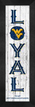 "West Virginia Mountaineers ""Proud & Loyal""-8x24  Wood-Textured Look Fram... - $39.95"