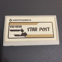 COMMODORE VIC 20 Star Post rare tested cartridge video game VIC-1939 - $19.99