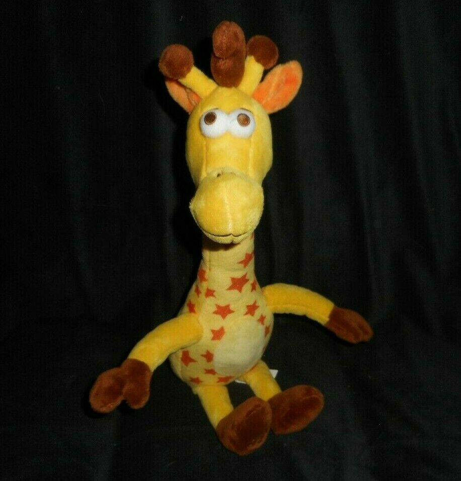 "Primary image for 16"" 2017 TOYS R US STORE MASCOT GEOFFREY THE GIRAFFE STUFFED ANIMAL PLUSH TOY"
