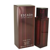 ESCADA SENTIMENT by Escada Eau De Toilette Spray 3.4 oz for Men - $54.95