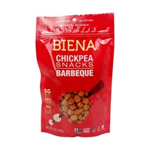Biena Foods, BBQ Roasted Chickpea Snack, 5 Ounce Bag NEW Kitchen Gluten ... - $11.87
