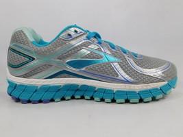 Brooks GTS 16 Size US 10 M (B) EU 42 Women's Running Shoes Silver 1202031B170