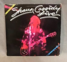 Shawn Cassidy LP Live On Tour That's Rock N Roll ORIGINAL 1979 Record w/... - $12.86