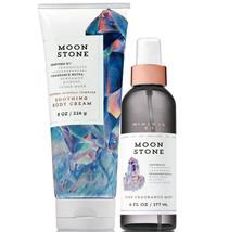 Bath & Body Works Moonstone Body Cream + Fine Fragrance Mist Duo Set - $26.41