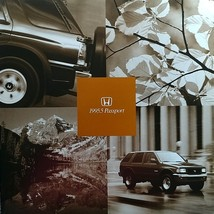1995.5 Honda PASSPORT sales brochure catalog US 95 1/2 LX EX - $9.00