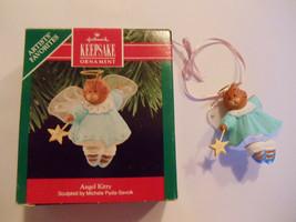 Hallmark Angel Kitty Michele Pyda Sevcik Signed Keepsake1990 Christmas O... - $21.73