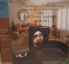 Precious Memories 3 Pc Faux Leather Desk Set - €9,55 EUR