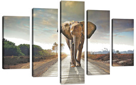 QICAI Modern Canvas Wall Art Painting for Home ... - $79.48