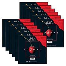 MCS 8x8 Inch Format Frame 12-Pack, Black 65636 - $41.02