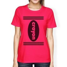 Crayon Womens Hot Pink Shirt - $14.99+
