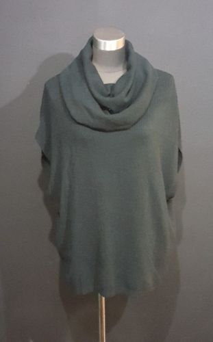 Nouveaux Black Cowl Neck Sweater Size Small Womens Oversize Fit Top