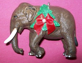 Custom Made Wild Republic Animal Elephant Christmas Holiday Ornament #2 - $18.00