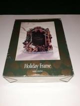 JCPenney Holiday Christmas Frame Marco Festivo 4 X 6 Frame Santa Snowma... - $14.84