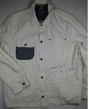 AMERICAN RAG White 4 Pocket Front Button Long Sleeve Shirt Jacket 2XL XXL image 1