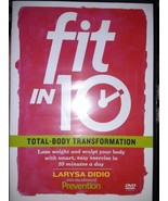 Fit In 10: Total Body Transformation (DVD) Brand New Factory Sealed - $11.38