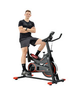 Red Fitness Exercise Bike Trainer Cardio Workout Cycling Stationary Bicycle - $297.25