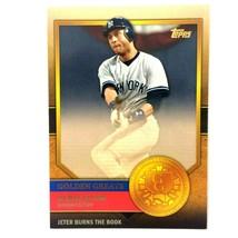Derek Jeter 2012 Topps Golden Greats Insert #GG-27 MLB HOF New York Yankees - $2.92
