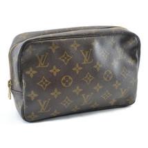 Louis Vuitton Monogramma Trousse Toilette 23 Frizione Bag M47524 IV Auth... - $192.60