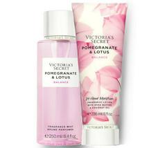 Victoria's Secret Pomegranate & Lotus Fragrance Lotion + Fragrance Mist Duo Set - $39.95
