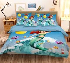 3D Moon Wave Fish 26 Bed Pillowcases Quilt Duvet Single Queen King US Lemon - $102.84+