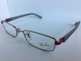 New Ray-Ban RB 1762 0125 50mm Silver Gray Men's Eyeglasses Frame  - $79.99