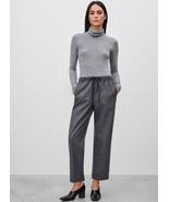 KAREN MILLEN Light Tweed Jodhpur Gray Pants High Waist Size Small US 4 $129 - $27.83