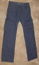 Boys Epic Threads Navy Cargo Pants Size 8 kh - $7.99