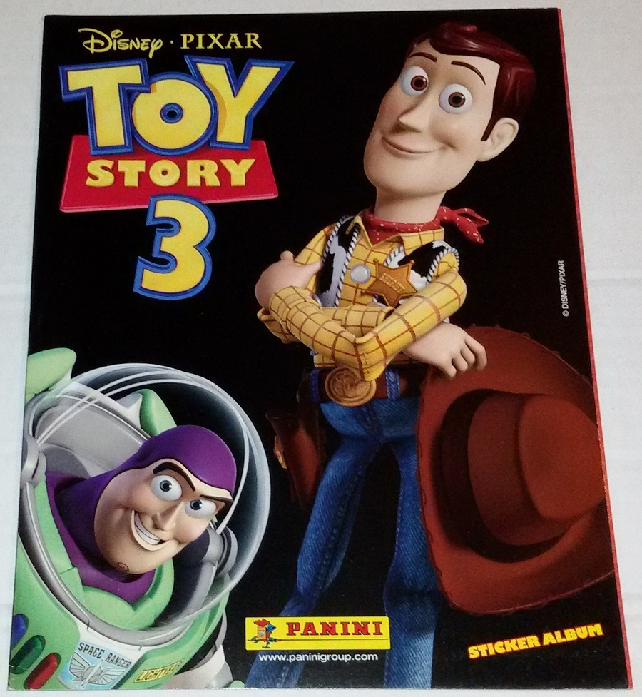Toy Story 3 Empty Album Panini South American Edition