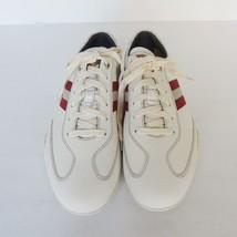 1455997 us taglia zibler BALLY 11d pelle bianca NUOVO s sneakers 8Twqdd