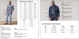Levi's Men's Big & Tall Barstow Western Pearl Snap Casual Denim Dress Shirt image 2
