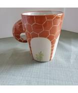 Cute Homee Brand 3D Giraffe Coffee Mug Cup Ceramic Hand Painted Neck Handle - $8.90