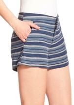 $158 Joie 'Merci' Stripe Blue Linen Shorts  [ SZ 2 ]  - $24.75