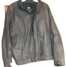 London Fog men's genuine leather jacket - $54.01