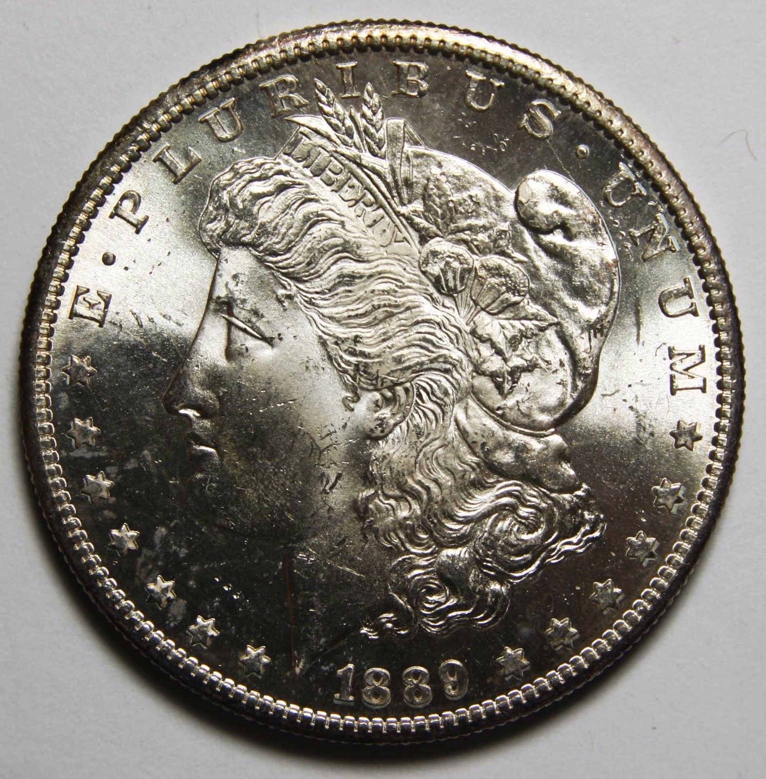 1899S MORGAN SILVER DOLLAR COIN Lot# A 2266