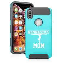 For Apple iPhone X XS MAX XR Shockproof Hard Soft Case Cover Gymnastics Mom - $14.99