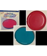 """Gerber Graduates Toddler Plate With Suction Cup Curved Rim 9.5 """" Teal or... - $7.99"""