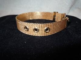 Gold Tone Band Bracelet - $6.99